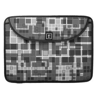 Mosaic Gray Macbook Pro Flap Sleeve Sleeve For MacBook Pro