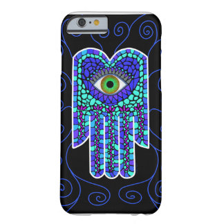 Mosaic Hamsa II on Black iPhone 6 case Barely There iPhone 6 Case
