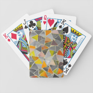 Mosaic in Colour Bicycle Playing Cards