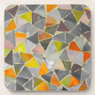 Mosaic in Colour Coaster