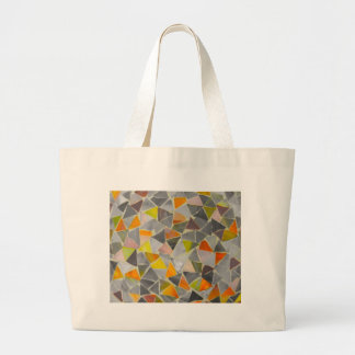 Mosaic in Colour Large Tote Bag