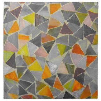 Mosaic in Colour Napkin