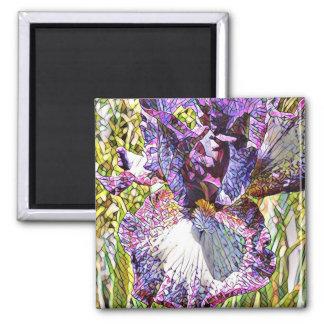 Mosaic Iris Magnet