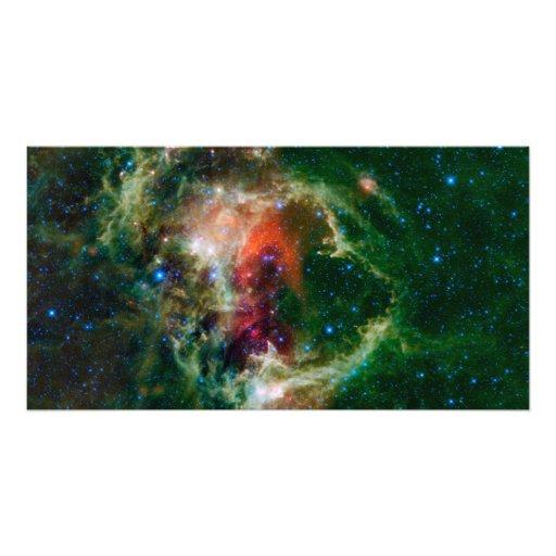 Mosaic is of the Soul Nebula Art Photo