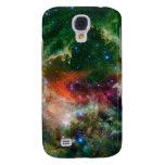 Mosaic is of the Soul Nebula Galaxy S4 Case