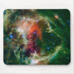 Mosaic is of the Soul Nebula Mouse Pad