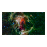 Mosaic is of the Soul Nebula Poster
