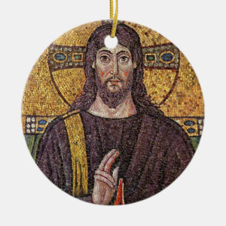 Mosaic Jesus Ornament