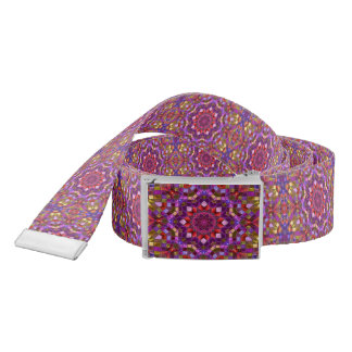 Mosaic Kaleidoscope     Custom Belt