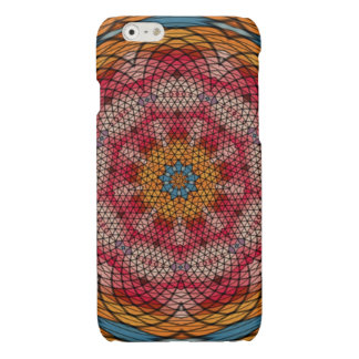 Mosaic kaleidoscope pattern iPhone 6 plus case