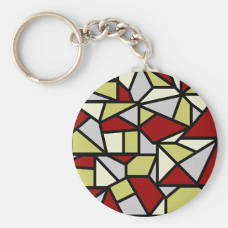 Mosaic key chain