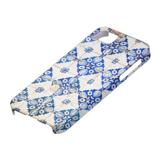 mosaic lisbon blue decoration portugal old tile iPhone 5 cases