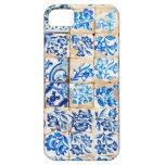 mosaic lisbon blue decoration portugal old tile iPhone 5 cover