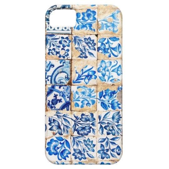 mosaic lisbon blue decoration portugal old tile iPhone 5 cover