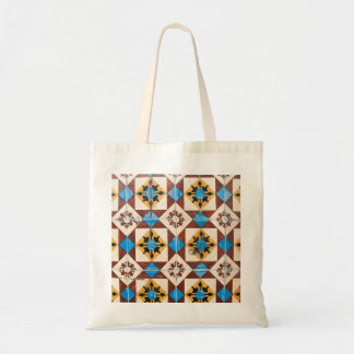 mosaic lisbon decoration portugal tile porcelain budget tote bag