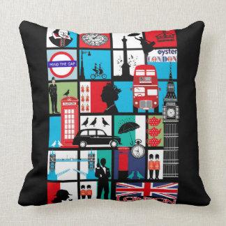 Mosaic London City Printed Cushion
