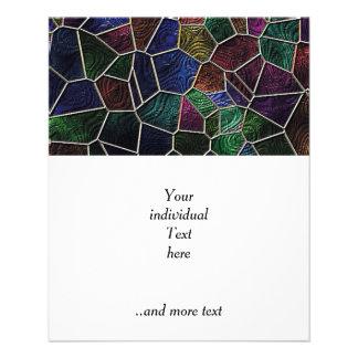 Mosaic Lora, multicolor Flyer Design