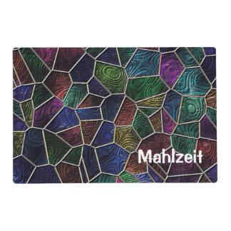 Mosaic Lora, multicolor Laminated Placemat
