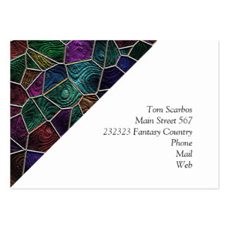 Mosaic Lora, multicolor Pack Of Chubby Business Cards