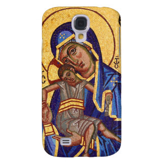 mosaic maddona & child galaxy s4 case
