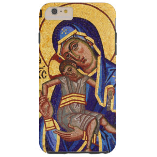 Mosaic Madonna & Child Icon Tough iPhone 6 Plus Case
