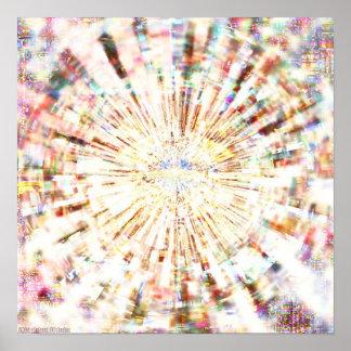Mosaic Mandala 1.2 Poster