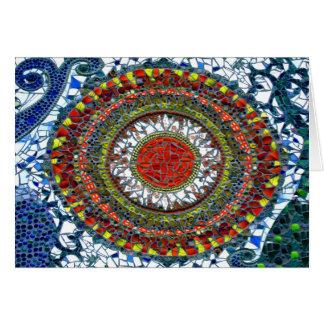 Mosaic Mandala 1 card