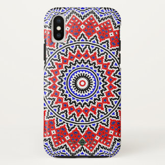 Mosaic Mandala 2 iPhone X Case