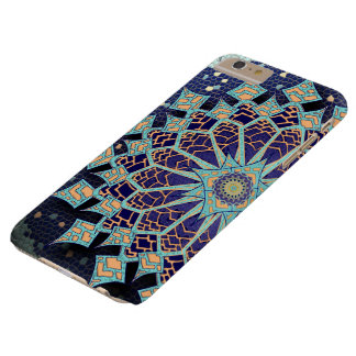 Mosaic Mandala in Blue Phone Case