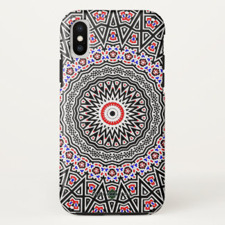 Mosaic Mandala iPhone X Case