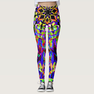 Mosaic Mandala Leggings