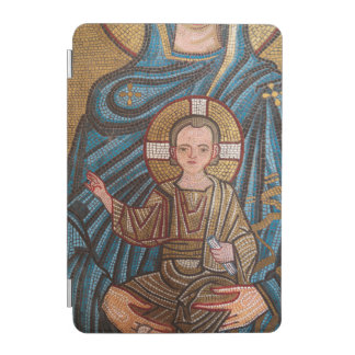 Mosaic Of Baby Jesus iPad Mini Cover