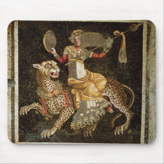 Mosaic of Dionysus riding a Leopard c.180 AD Mouse Mat