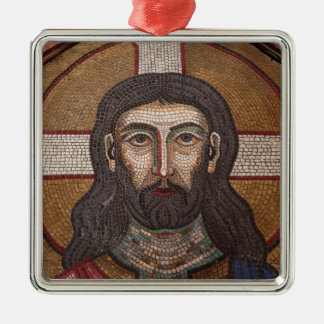 Mosaic Of Jesus Christmas Ornament