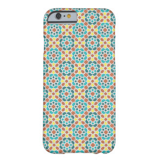 Mosaic of tile and arabesque green yellow and barely there iPhone 6 case
