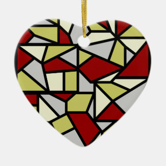 Mosaic ornament, customizable christmas ornament