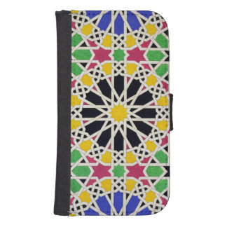 Mosaic ornament in the south side of the Court of Samsung S4 Wallet Case
