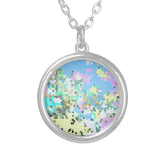 Mosaic Pastel Necklace