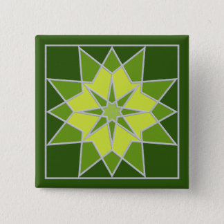 Mosaic pattern button