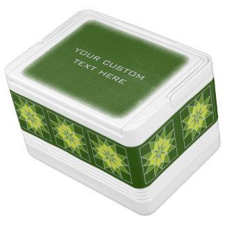 Mosaic pattern custom cooler igloo cool box