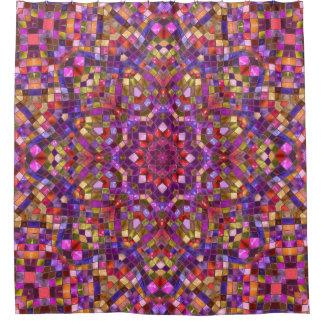 Mosaic Pattern  Custom Shower Curtain