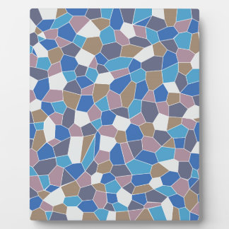 Mosaic Pattern Display Plaques
