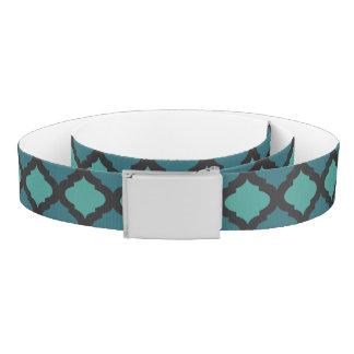 Mosaic pattern in arab style belt