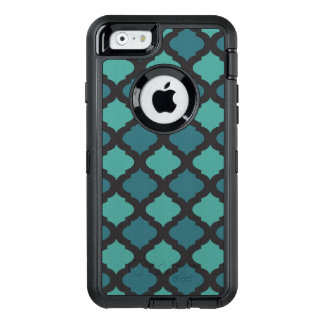 Mosaic pattern in arab style OtterBox defender iPhone case
