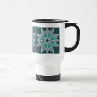 Mosaic pattern mugs