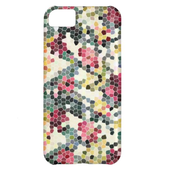 mosaic pattern pixel iPhone 5C case