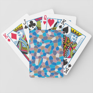 Mosaic Pattern Poker Deck