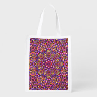 Mosaic Pattern Reusable Bag