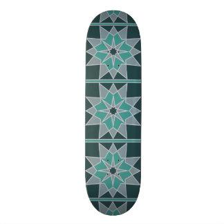 Mosaic pattern skateboards