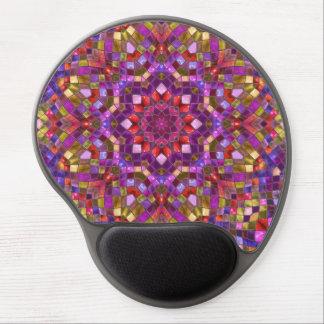 Mosaic Pattern Vintage Kaleidoscope  Gel Mousepad Gel Mouse Mat